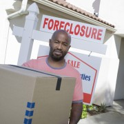 Couple moves out after foreclosure.
