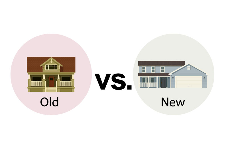 Should you buy an old home or a brand new home?