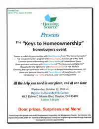The keys to Homeownership Flyer